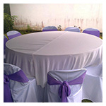 Patterned Round Tablecloths