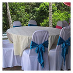 Damask Round Tablecloths