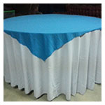 Coloured Top Tablecloths