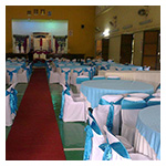 Coloured Top Round Tablecloths