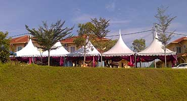 Canopy Tent Supplier Malaysia   Arabian, Pyramid, A shape
