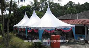 arabic canopy & Canopy Tent Supplier Malaysia | Arabian Pyramid A shape ...